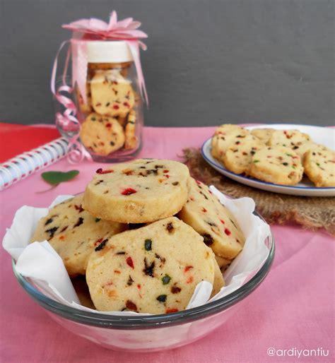 yancakes kue kering sukade kismis tutti frutti cookies