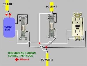 Wiring - Bathroom Vent Fan Electrical Question
