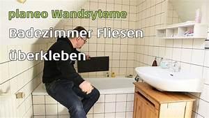 Vinyl Fliesen Bad Wand : badezimmer w nde renovieren mit planeo wandsysteme youtube ~ A.2002-acura-tl-radio.info Haus und Dekorationen
