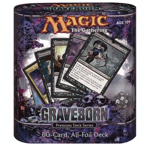 premium graveborn deck box and first spoilers