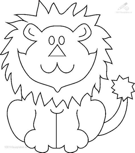 Kleurplaat Leuw kleurplaat leeuw