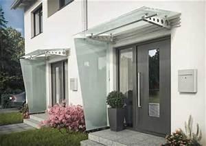 Glasvordach Mit Seitenteil : glasvordach vd 100 mit integrierter beleuchtung ~ Buech-reservation.com Haus und Dekorationen