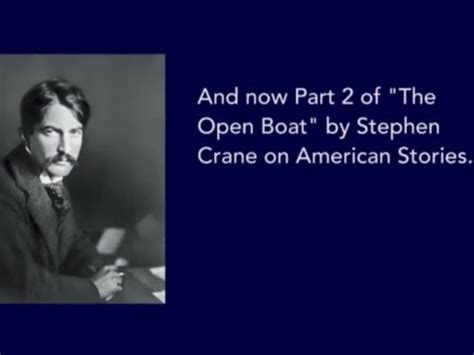 The Open Boat The Cook by Voa Special American Stories The Open Boat By
