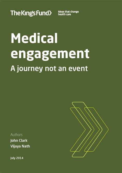 medical engagement  kings fund