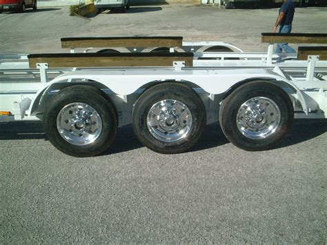 Boat Trailers For Wheels by Tabg53 243 With Extended Boat Rack Pockets And Alcoa Wheels