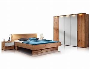 Schlafzimmer Komplett Weiß : rivera komplett schlafzimmer alteiche bianco weiss glas ~ Orissabook.com Haus und Dekorationen