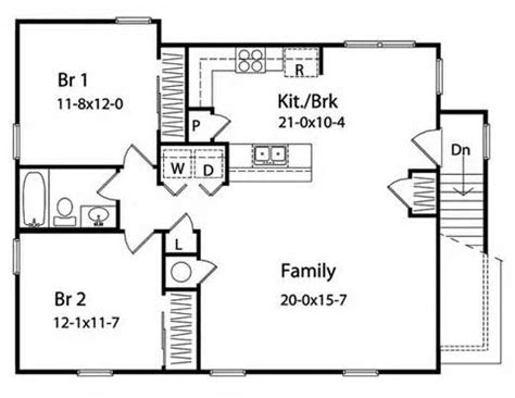 30 X 30 With Loft Floor Plans by High Resolution 30 X 30 House Plans 2 20x30 House Floor