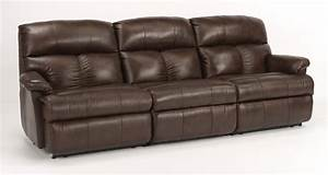 Flexsteel triton three piece power reclining sectional for 3 piece sectional sofa with recliner