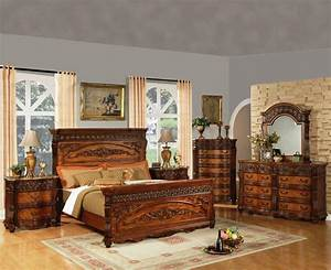 Oak, Bedroom, Sets, For, Family, And, Comfy, Look
