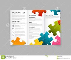 Digital Brochure Powerpoint Templates Slidemodel Free Puzzle Pieces Powerpoint Template For