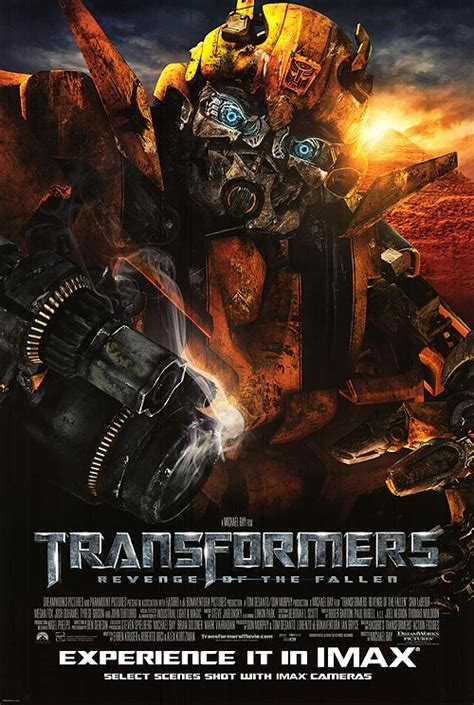 Transformers Revenge Of The Fallen Movie Posters At Movie