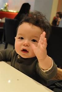 Baby Chenivan: Waving hello to Melrose  Baby