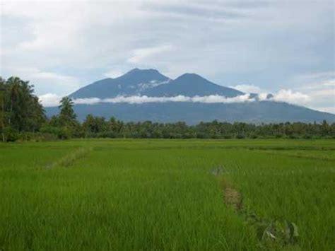 inilah  gunung tertinggi  sumatera good news