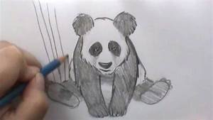 How to draw a Panda - YouTube