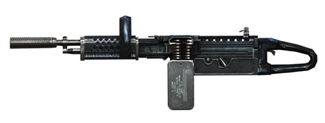 M249 Chainsaw 3d Asset