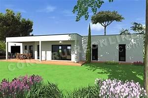 vente de plan de maison d39architecte With photo maison contemporaine plain pied