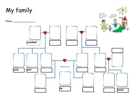 familyfriends worksheets