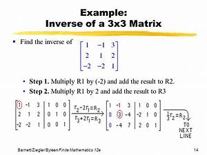 Inverse Matrix Berechnen 3x3 : chapter 4 systems of linear equations matrices ppt video online download ~ Themetempest.com Abrechnung
