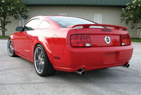 torch red  ford mustang gt coupe mustangattitudecom