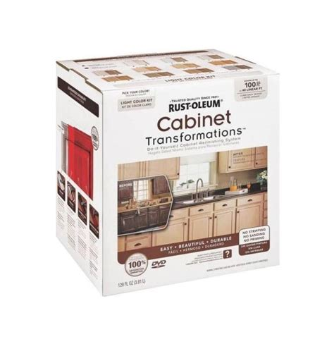 kitchen cabinet transformation kit rustoleum 258109 light tb cabinet kit ebay 5837