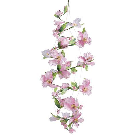ranken blumen garten deko blumen spiralranke 6 m lang rosa dekoration bei dekowoerner