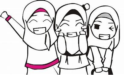 Animasi Gambar Mudah Islami Yang Bergerak Kartun