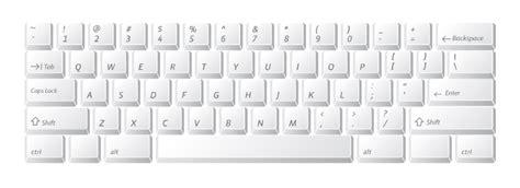 Best Photos Of Printable Keyboard Template Blank