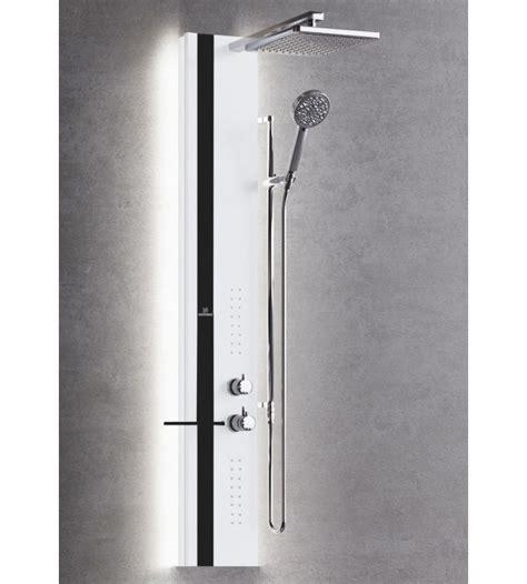 colonna doccia attrezzata colonna doccia attrezzata con illuminazione led novellini