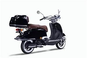 Motorroller Vespa 50ccm : motorroller techno classic retro roller schwarz mit ~ Jslefanu.com Haus und Dekorationen