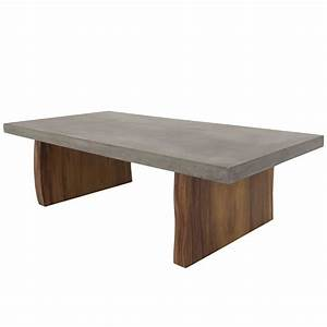 concrete coffee table with eco slab legs for sale at 1stdibs With concrete slab coffee table