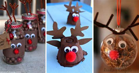 reindeer crafts adorable rudolph crafts  kids