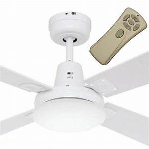 Swift mini ceiling fan with light and remote white quot
