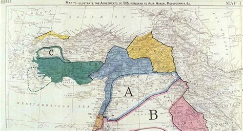 100 Years On: Sykes-Picot Agreement Still Haunts the