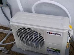 How To Install Pioneer Ductless Mini Split 12000 Btu 230