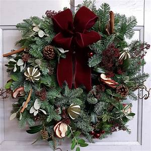 Christmas, Wreath, Making