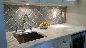 arabesque backsplash white – SAVARY Homes
