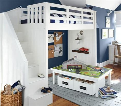 Pottery Barn Loft by Stair Loft Bed Pottery Barn From Pottery Barn