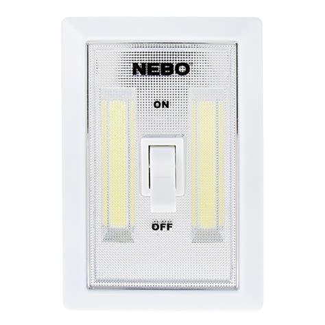 switching to led light bulbs nebo flipit led light switch 2 pack 215 lumens