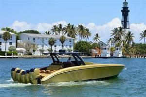 43 Midnight Express 2015 Gold Digger Fort Lauderdale Florida