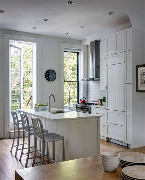 South Slope Brooklyn Townhouse Renovation Kitchens