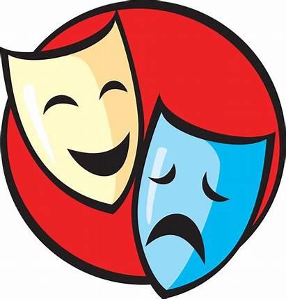 Masks Theatre Clipart Clip Clipartmag
