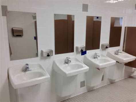 Downstairs Bathrooms At Alj Hs Get Improvements News