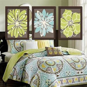 Best ideas about green brown bedrooms on