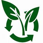 Compost Waste Zero Clipart Symbol Recycling Leaf