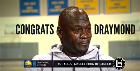 Draymond Green Memes - draymond green didn t cry over all star selection because he didn t want to be the next crying