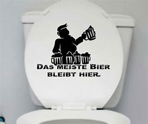 Klo Mit Wasserstrahl : wc deckel aufkleber bier toiletten m nner spruch badezimmer bad klo wand 1k179 sonstige ~ Sanjose-hotels-ca.com Haus und Dekorationen