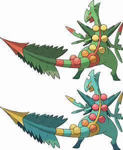 Mega Sceptile by KrocF4 on DeviantArt