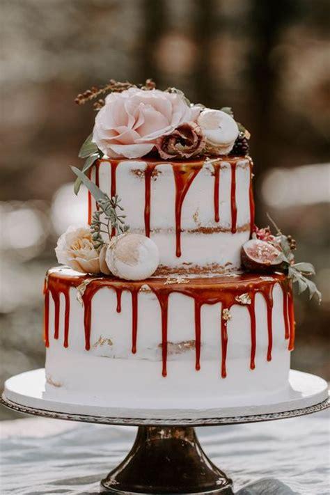 decadent fall wedding cakes gorgeous fall wedding