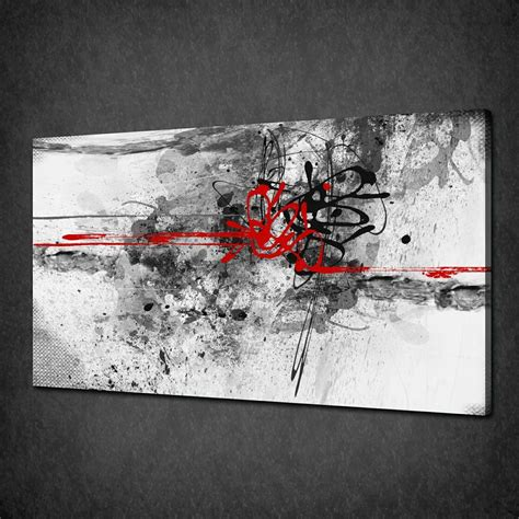 Abstract On Black Canvas by Abstract Archives Canvas Print