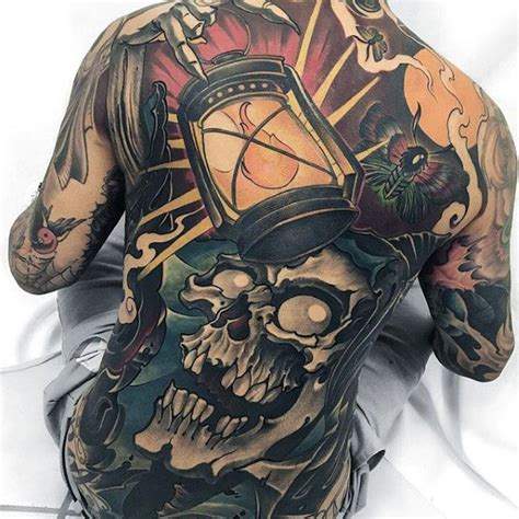 modern tattoos  men st century design ideas